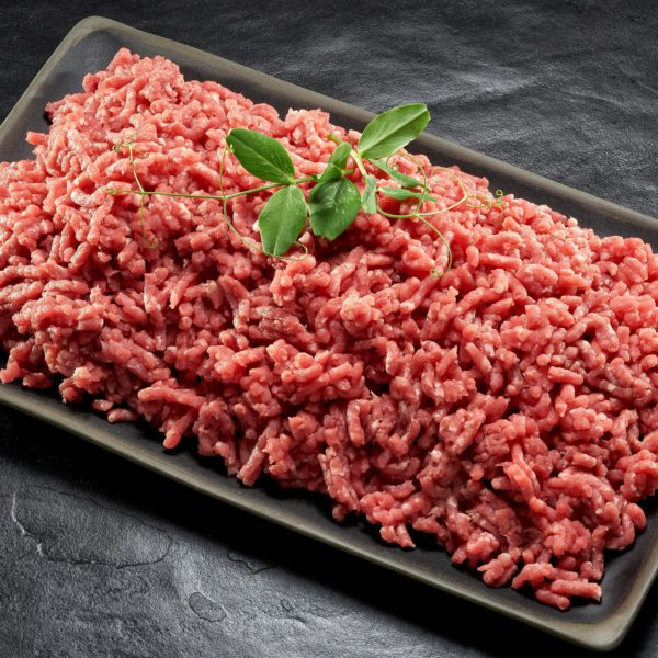 Minced beef (100% lean)
