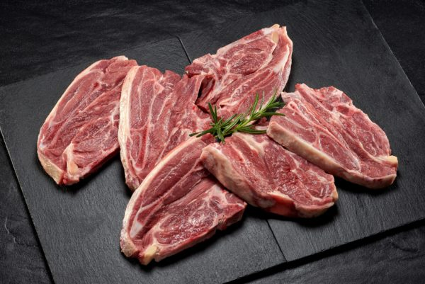 0361LAMB SHOULDER CHOPS X 6 (1Kg)