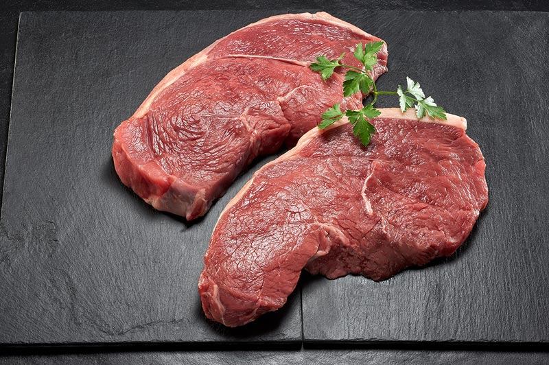 2 x 500g rumb steaks