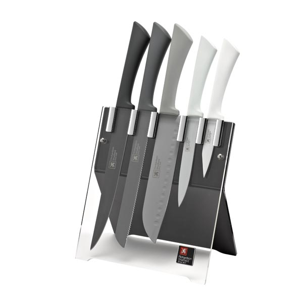 Richardson Sheffield 5 Piece Knife Block set R167_Love