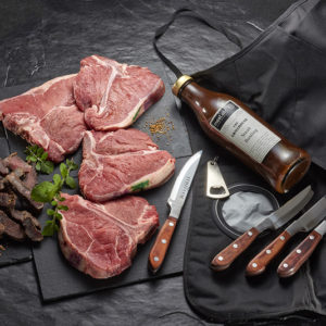The Steak Lover T-Bone gift pack
