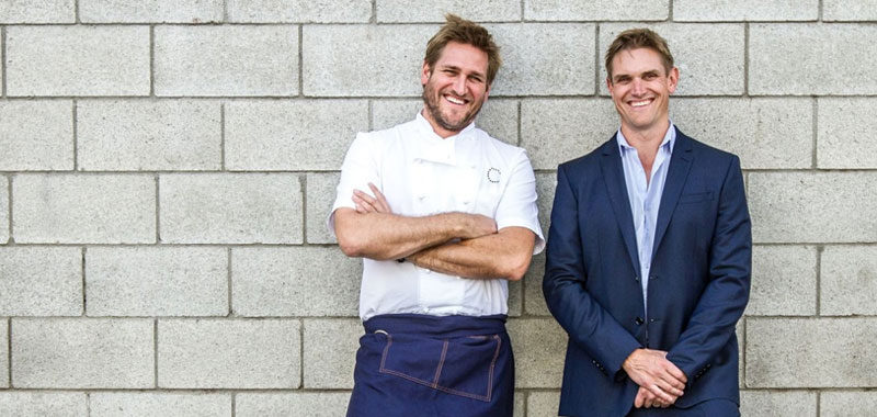 Curtis Stone and his brother, Luke