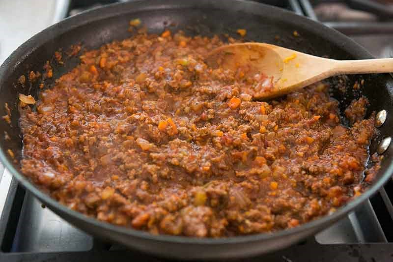 Sloppy Joe mince