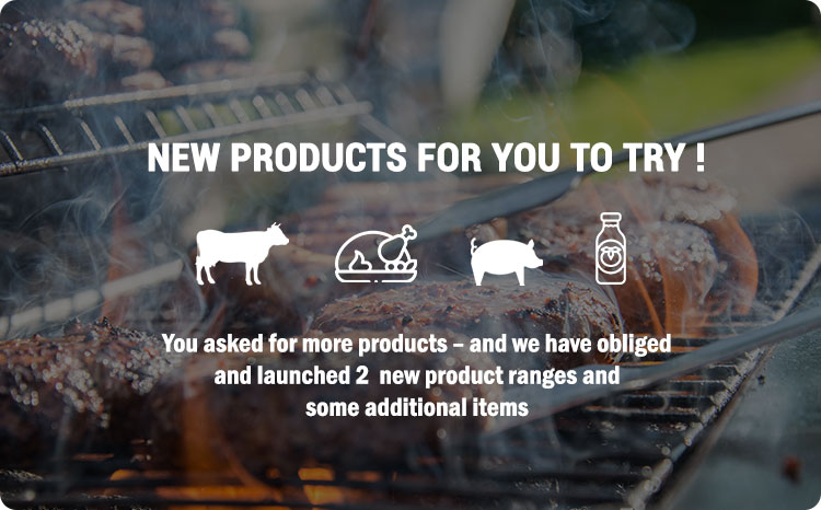 New meat products to order online
