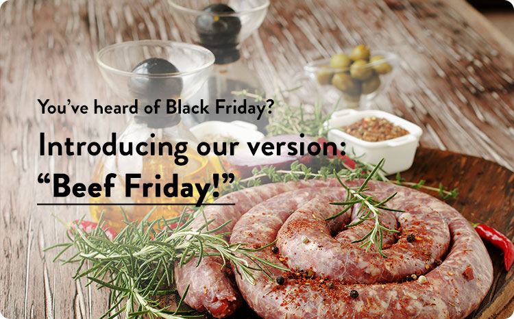 Black Friday Meat Specials